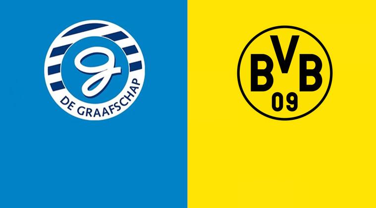De Graafschap speelt gelijk tegen Borussia Dortmund